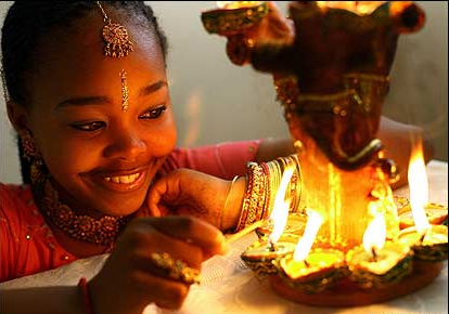 When Is Diwali  In South Africa