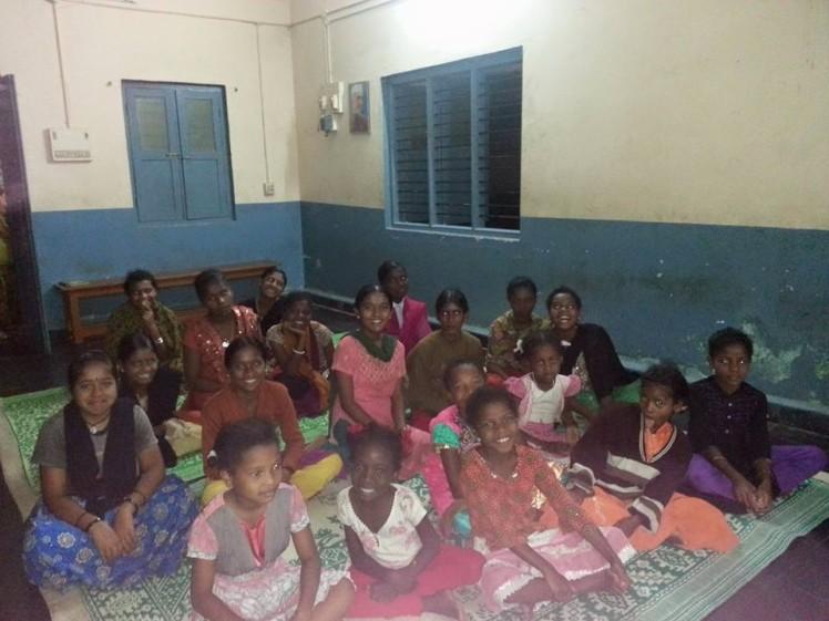Children at the Hostel